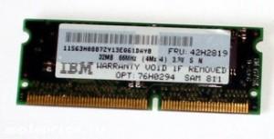 SIMM RAM KMM5328104ck