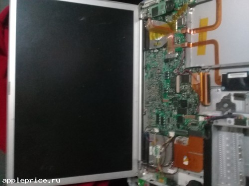В сборе мат плата PowerBook G4
