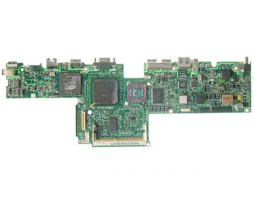 Titanium PowerBook G4 400MHz logic board