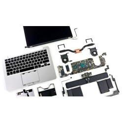 Macbook Air 13 A1304 разбор