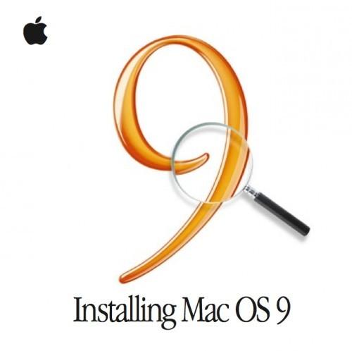 Mac OS 9 восстановление