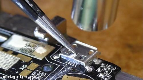 Замена USB разъемов на аймак