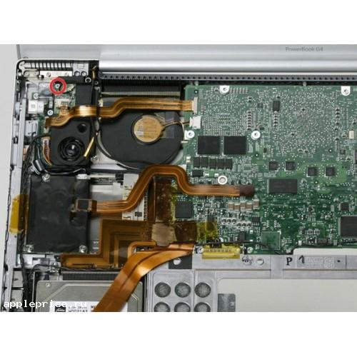 Запчасти PowerBook g4 17